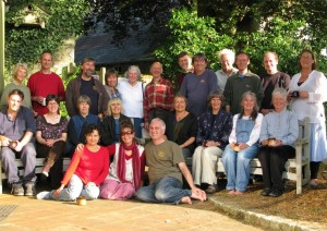Picture of sangha members