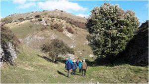 People walking in the Peaks